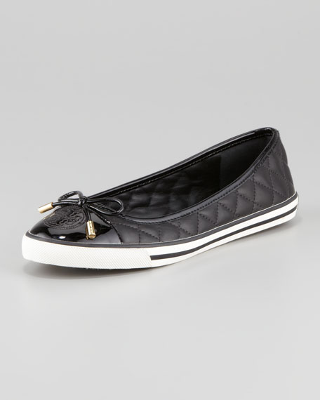 74c41a40c24a Tory Burch Skylar Quilted Leather Sneaker