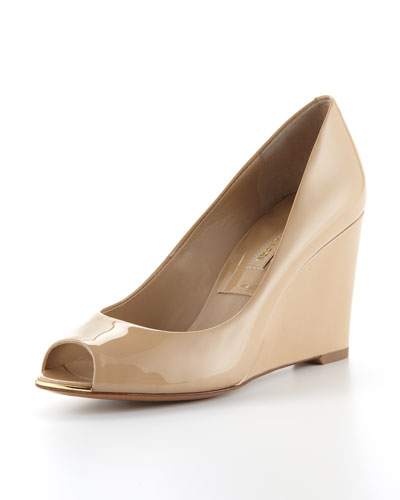 Valari Peep-Toe Wedge