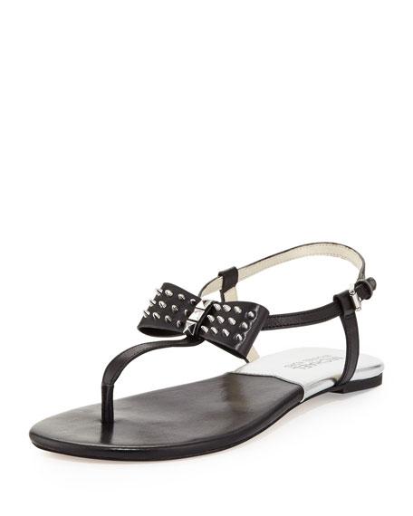 Devin Thong Sandal Bow Stud 9DE2IH