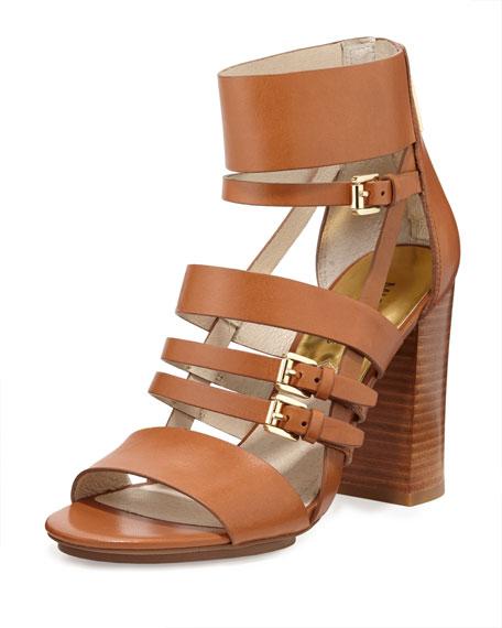 4f8b87fb35e2 MICHAEL Michael Kors Winston Strappy Leather Sandal