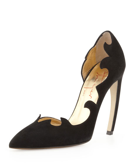 best place Walter Steiger Leather D'Orsay Pumps cheapest price for sale XAzc8