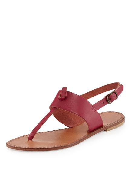 6096aa182484a5 Joie Bastia Knot Thong Sandal