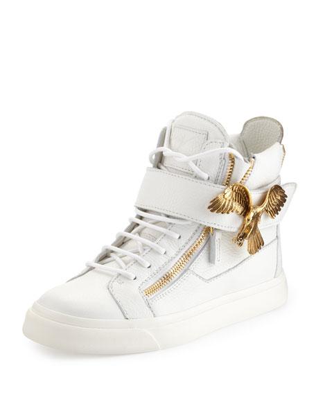 side zip sneakers - White Giuseppe Zanotti fp6PVINM