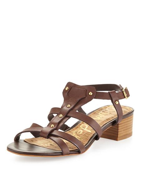 d97c5aec3398 Sam Edelman Angela Studded T-Strap Sandal
