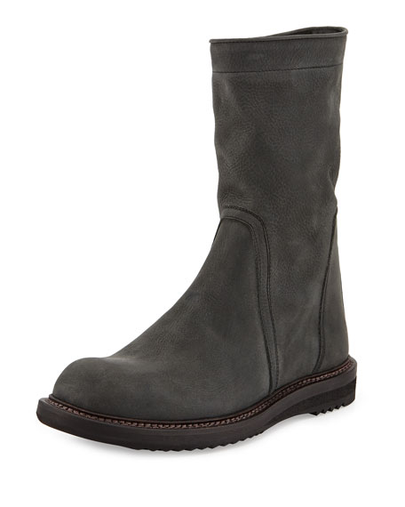 Rick Owens Creeper Mid-Calf Boots clearance best wholesale FTBAHU2az