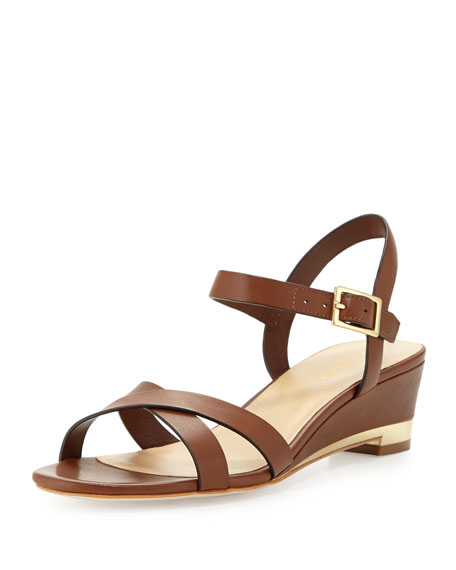 40a3164f2a5 Cole Haan Melrose Low-Wedge Sandal