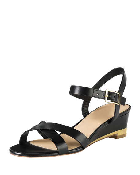 2337fd807ad Cole Haan Melrose Low-Wedge Sandal