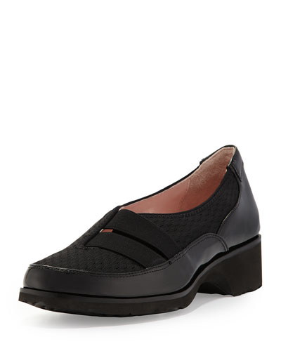 Tuuli Double-Strap Slip-On Sneaker, Black