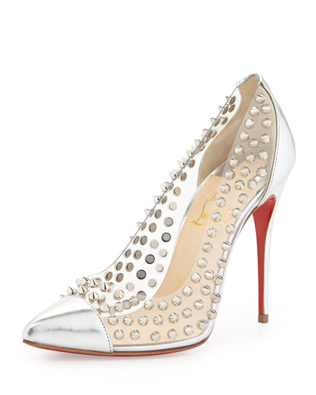 c5baef6c7d8 Christian Louboutin Spike Studded Red Sole Pump