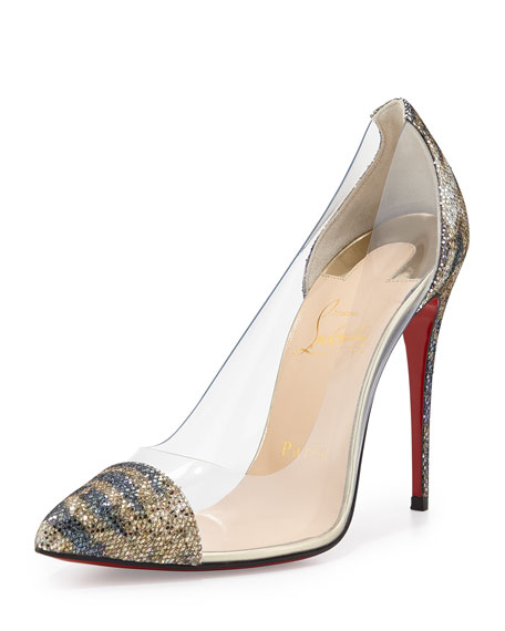 free shipping pay with paypal clearance supply Christian Louboutin Debout Glitter Pumps low price cheap online E3RX51