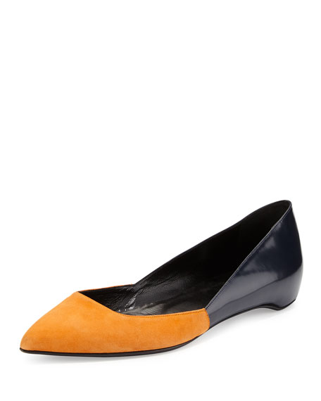 Pierre Hardy Leather Ballet Flats tFigae