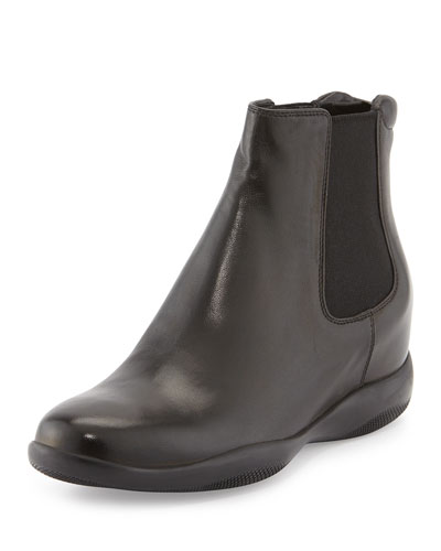 Pull-On Sport Ankle Boot