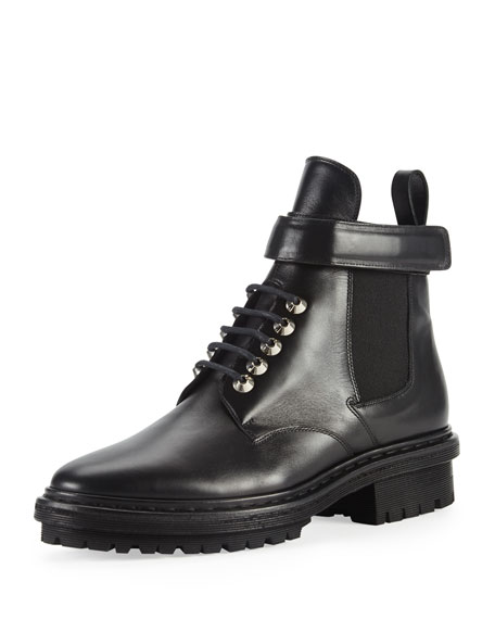 Balenciaga Leather Buckled Boots HfvbSQzz