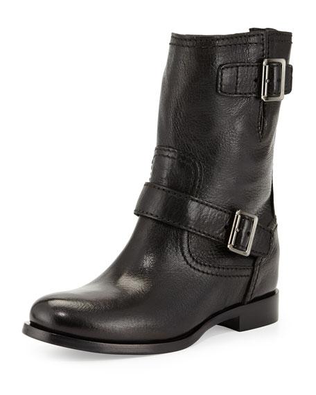 Prada Moto Buckle Boots Q3hei5YfX