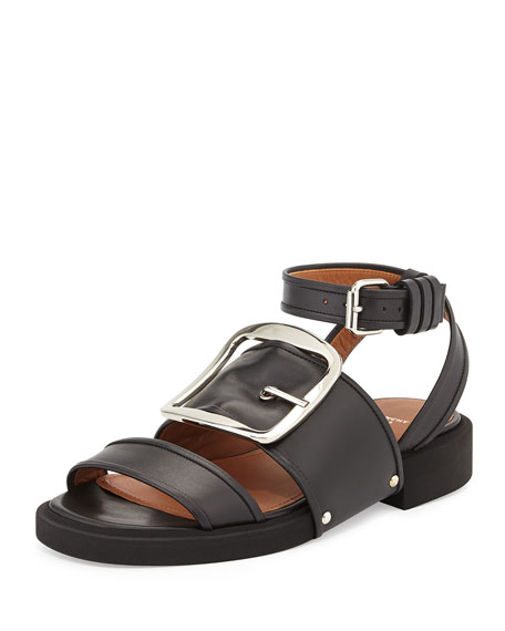 amazing price cheap price Givenchy Leather Buckle Sandals genuine cheap online outlet low price outlet recommend cheap 2015 new 4PORJ