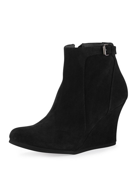 a61be6025fb0 Ankle Suede Wedge Boots - The Best Boots In The World