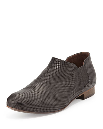 Ilan Leather Slip-On Loafer, Black
