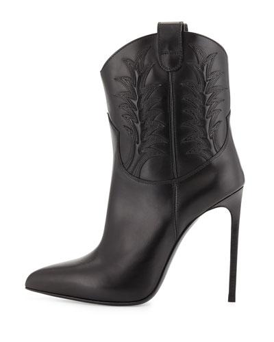 laurent high heel western boot