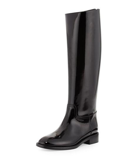 Saint Laurent Spazzolato Flat Knee Boot 5468eade926f