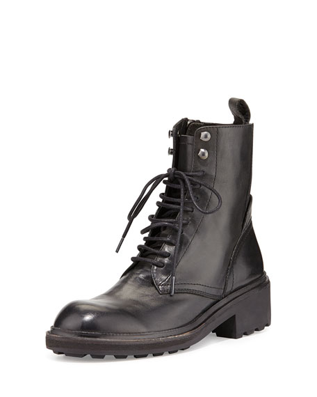 Ash Leather Boots With Laces Cheap Classic JnW0Xh
