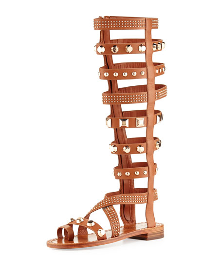 e655fec122a Ivy Kirzhner Triumph Studded Gladiator Sandal