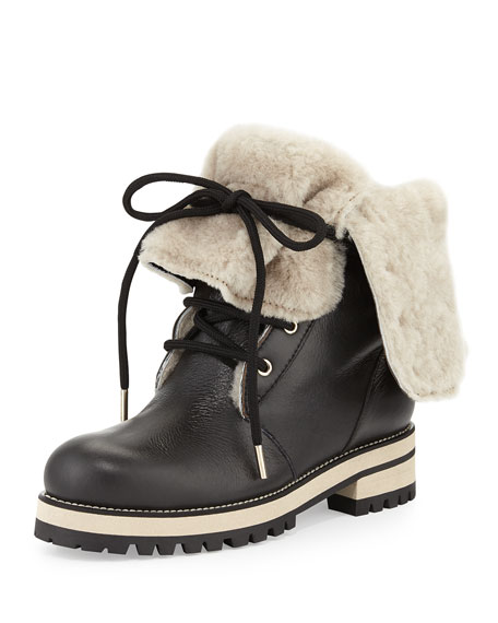 clearance cheap cheap sale geniue stockist Jimmy Choo Fur-Lined Mid-Calf Boots POWgZx