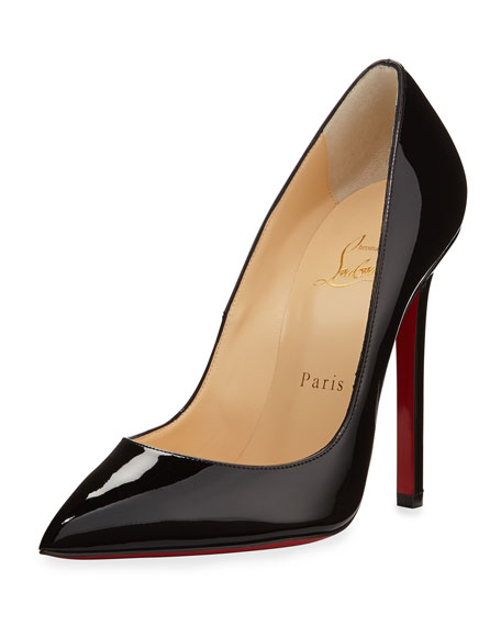 eb73dd9ece4 Christian Louboutin Pigalle Patent Leather Red Sole Pump