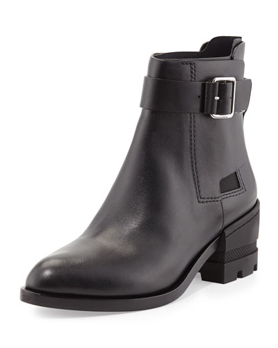 Martine Buckled Ankle Boot