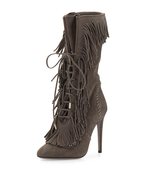 Aquazzura mid-calf block heel boots shop for cheap online outlet prices shop for for sale footlocker for sale wLH1ww
