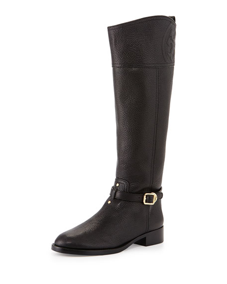 df5d6d05772 Marlene Leather Riding Boot Black