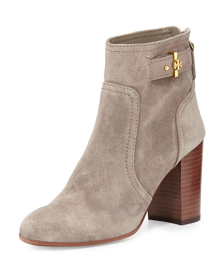 33f77ea125dd Tory Burch Kendall Suede Ankle Boot
