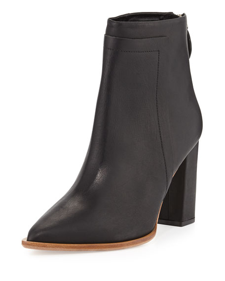 Loeffler Randall Leather Pointed-Toe Booties sale perfect newest online factory outlet cheap online CBINt5iHrQ