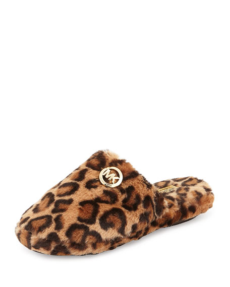 bdb0132ed2aef MICHAEL Michael Kors Jet Set Faux-Fur Slipper