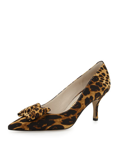 Affair Point-Toe Pump, Leopard