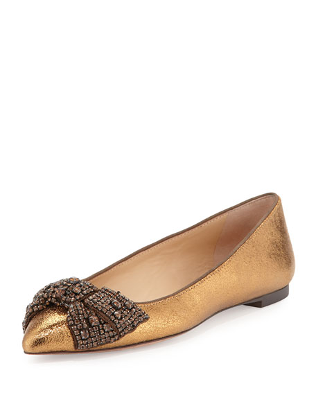 Tory Burch Vanessa Embellished Flats extremely cheap price perfect sale online buy cheap big discount outlet store LdAvhYZRv
