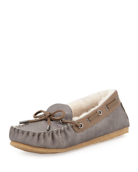 ceb4ec6a97f Tory Burch Maxwell Shearling-Lined Moccasin