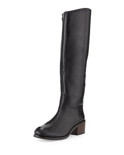 Fulton Knee-High Boot, Black