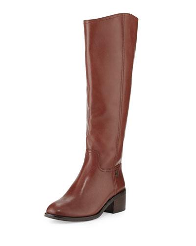 Fulton Knee-High Boot, Dark Sepia