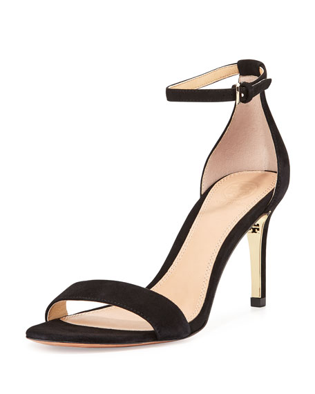 e16700a9c Tory Burch Keri Suede Ankle-Strap Sandal