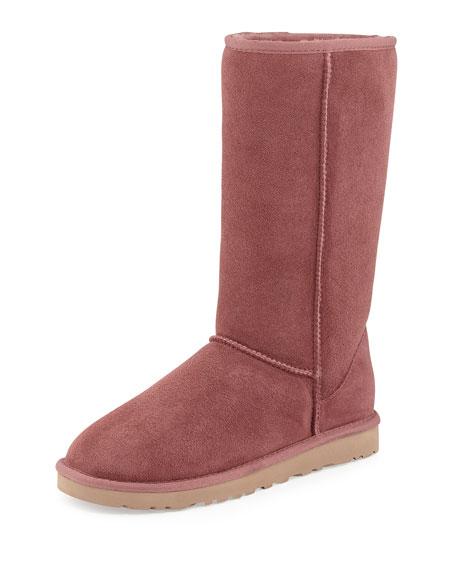 ugg classic tall boot plum wine rh neimanmarcus com