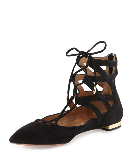 Aquazzura Belgravia Lace-Up Sandals quality for sale free shipping discount choice cheap wholesale outlet low cost PJRpFnV1Uf