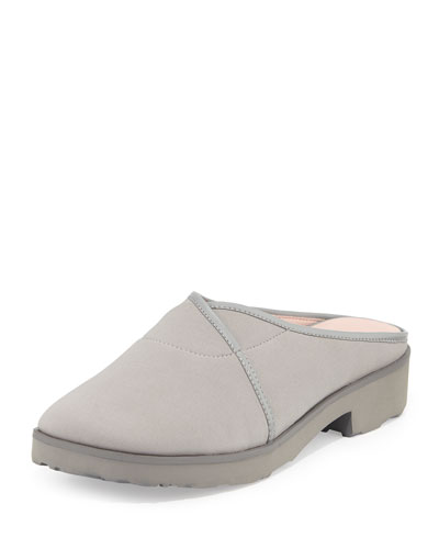 Tesse Stretch Slip-On Mule, Gray