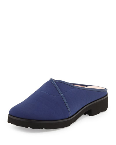 Tesse Stretch Slip-On Mule, Medieval Blue