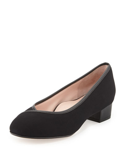 Jenison Stretch Low-Heel Pump