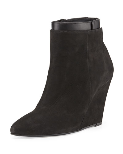 Ludlow Pointed-Toe Wedge Boot