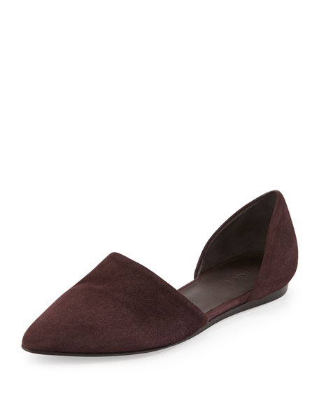 Vince Nina Suede Flats sale pay with visa g7cfQW