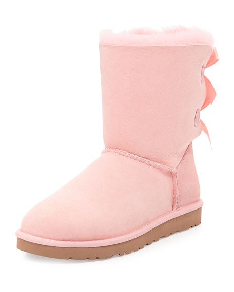 ugg bailey bow back short boot english primrose rh neimanmarcus com