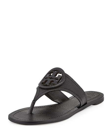 6221a8bb6 Tory Burch Louisa Logo Flat Thong Sandal