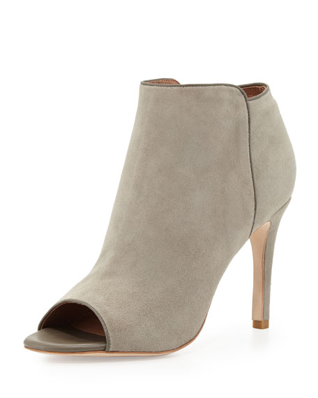 Joie Suede Peep-Toe Booties limited edition for sale prices cheap online outlet brand new unisex hHLrdt9H