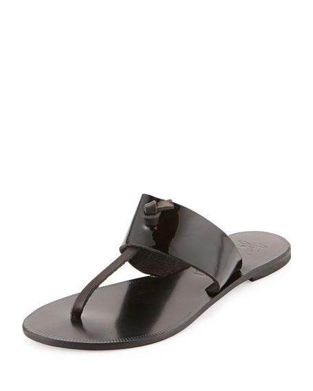5e726119012f Joie Nice Patent Thong Sandal